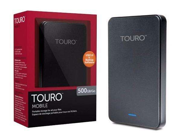Hd Externo Touro 500 Gb Novo - Usb 3.0