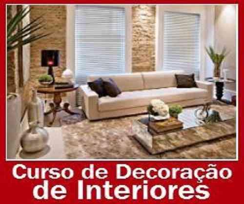 Curso Decoração de Interiores