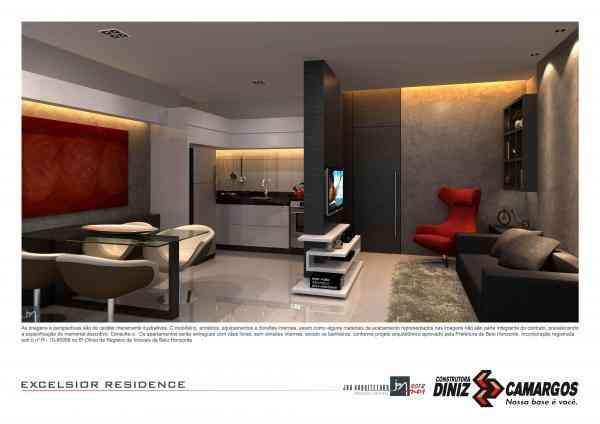Apartamento, Centro, 3 Quartos, 0 Vaga, 1 Suíte