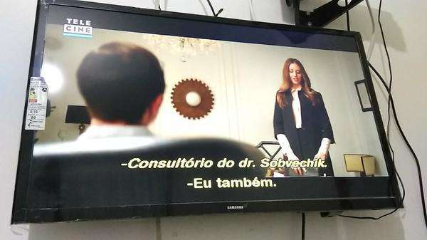 """Tv Samsung 32"""" Hd Led Com Modo Futebol"""