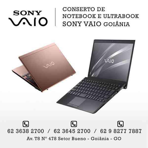 62 3645-2700 - Assistência Técnica Sony Vaio Goiânia Goiás