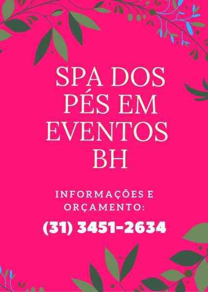 Spa dos Pés Para Seu Evento - Massagem Nos Pés.