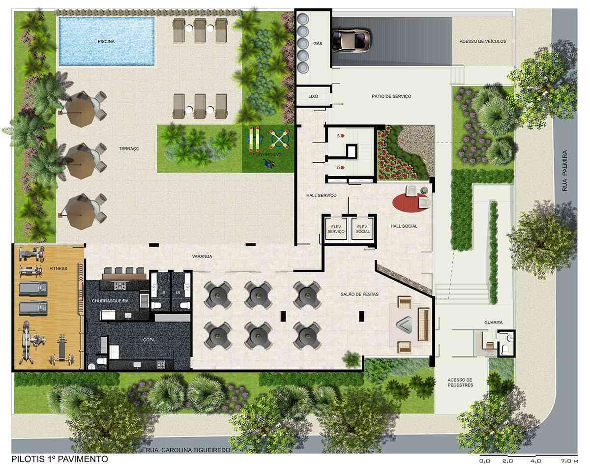 Apartamento, Serra, 4 Quartos, 5 Vagas, 4 Suítes