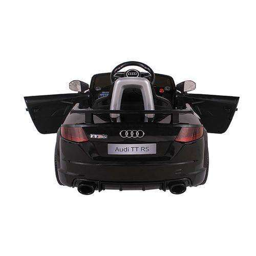 Carro Elétrico Conv. Audi Preto 12v C/ Controle Bel Brink