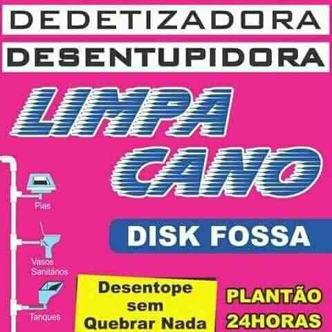 Desentupidores,limpa Fossa,limpa Cano,(47)996232080