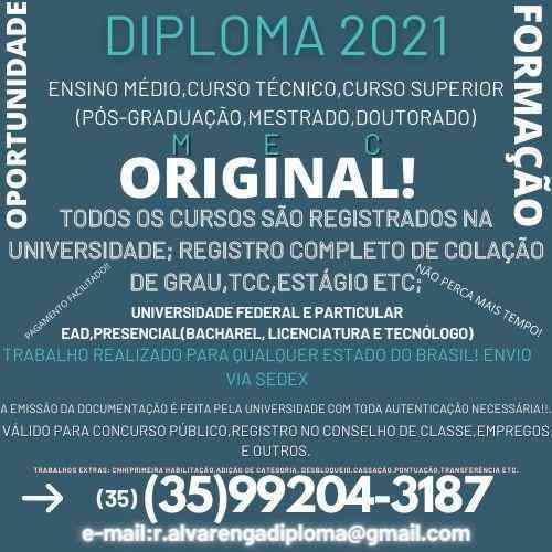 Curso 2021(graduação, Mestrado, Doutorado) Rápido