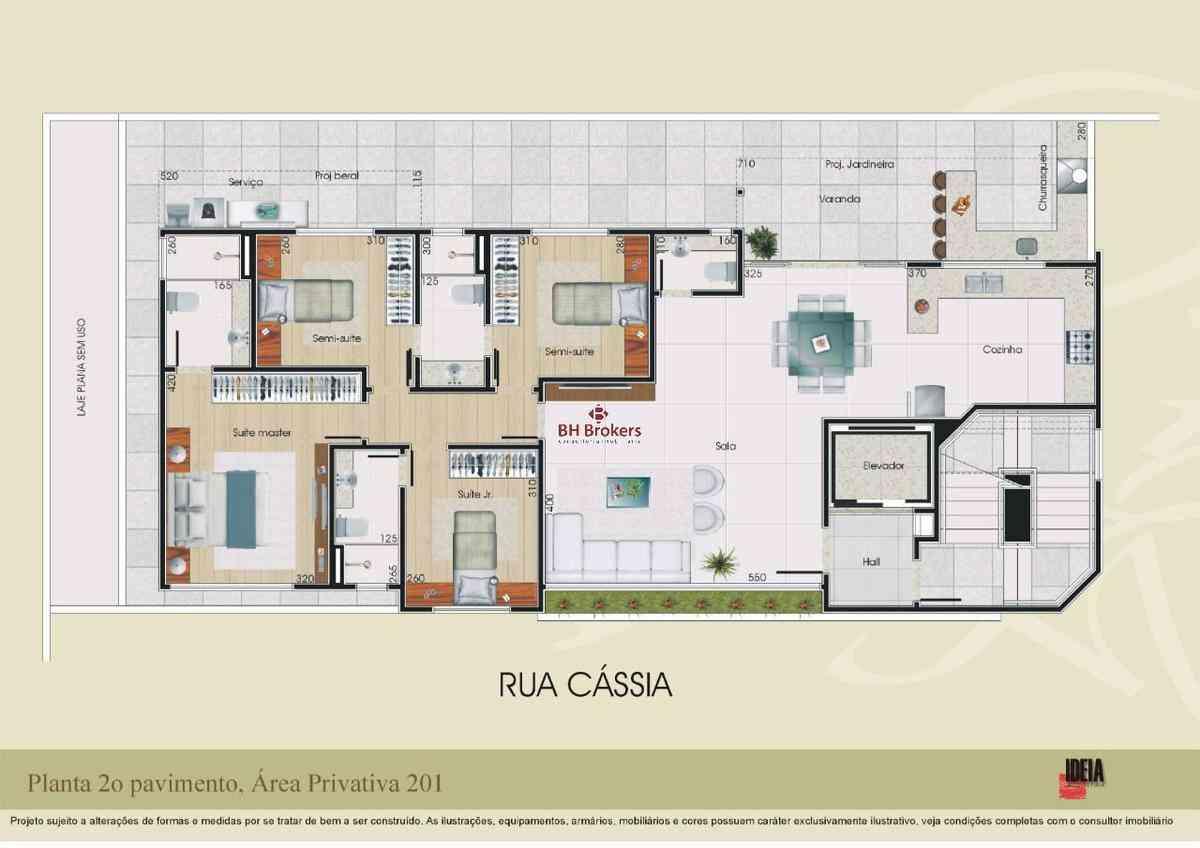 Apartamento, Prado, 4 Quartos, 4 Vagas, 3 Suítes