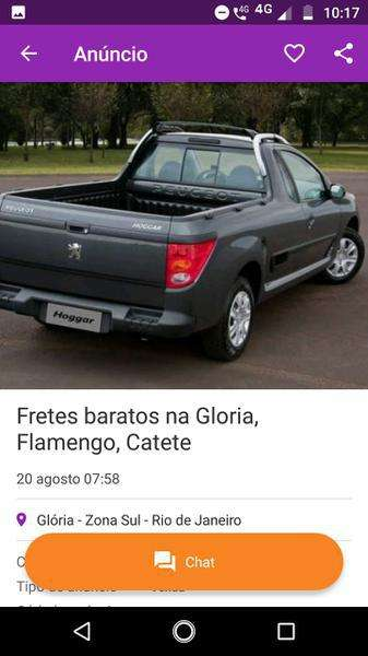 Fretes Baratos Riachuelo, Sampaio, Lins  Rj Zap 99600-0550