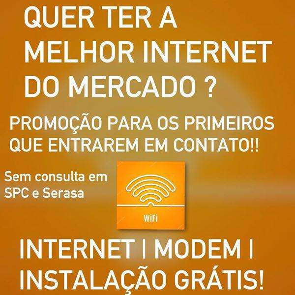 Promoção Internet Banda Larga