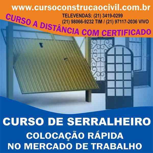 Curso de Esquadrias de Alumínio - Cursoconstrucaocivil.com.br