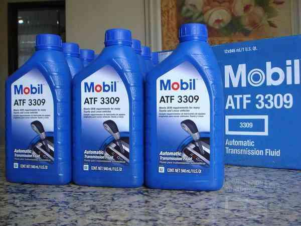 Óleo Fluído Câmbio Automático Mobil Atf 3309