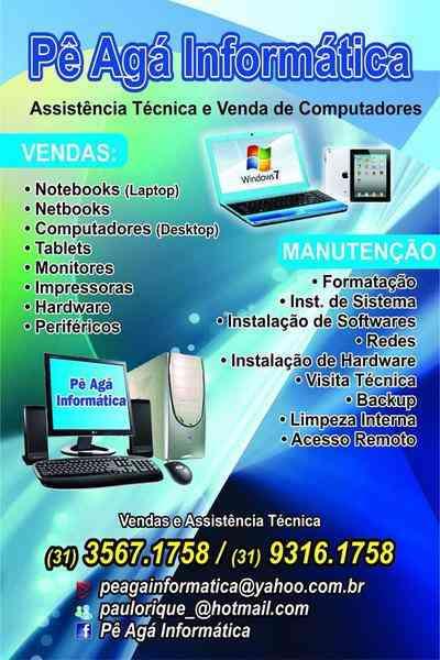 Assistência Técnica e Venda de Computadores