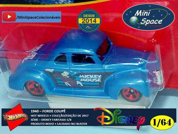 Hot Wheels 1940 Ford Coupê Disney Fantasia 1/64