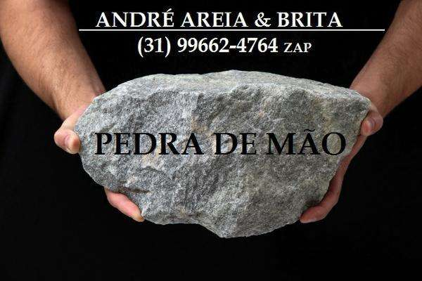 Areia Lavada e Peneirada, Brita, Pedra de Mão, Terra Vegetal, Etc....