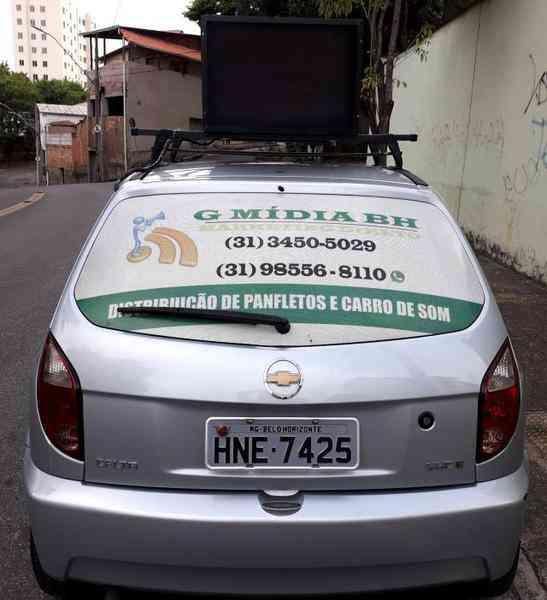 Panfletagem e Carro de Som Bh