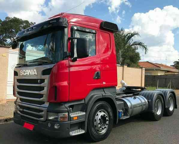 Scania R-440 a 4x2 Hig. 3-e./a 6x2  (die.) (e5)