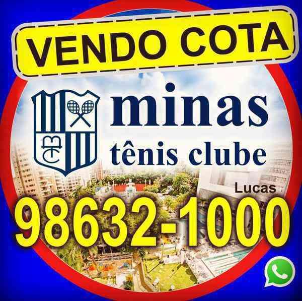 Vendo Cota Minas Tênis Clube